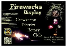 Fireworks Display - 3 November 2012