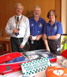 Rotary Club Helps Community First Responders