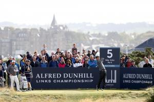 Dunhill Golf Tournament 2018 on Old Course