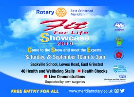 The Rotary Club of East Grinstead Meridian to host a Community Health event