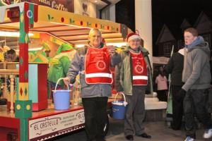 Fleet Rotary Tableau visits Town Centre on 21-11-12