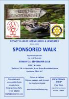 Sponsored Walk 9am for 9:30 start