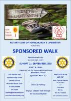 This years Sponsored Walk was on 2-Sep-2018