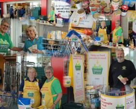 FOODBANK COLLECTION AT TESCO