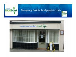 Lunchtime Meeting - 12.45pm - Speaker Phil Simpson, Oswestry Foodbank