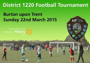 Rotary District 2015 Football Competition