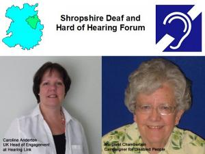 Shropshire Deaf & Hard of Hearing Forum, The Memorial Hall, Oswestry