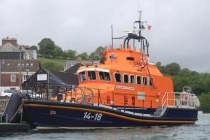 VISIT to FOWEY LIFEBOAT