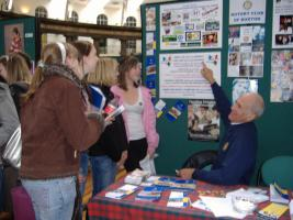 Buxton Rotary Meets Buxton Students