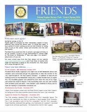 Friends Newsletter - Spring 2016