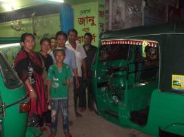 Further Community Projects in Bangladesh - Clinton's Rickshaw