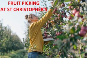 Fruit Picking at St Christopher's