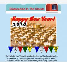 Classrooms in the Clouds New Year 2018 newsletter