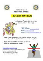 Junior Fun Run 2015