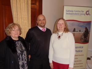 Rotary Supports Galway Centre for Independent Living
