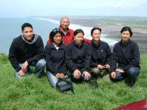 GSE visitors from Nepal
