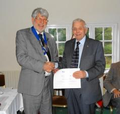40 years in Rotary