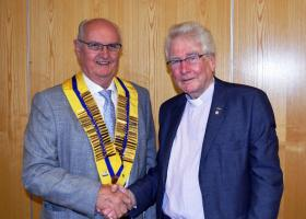 The Rotary Club of Sutton in Ashfield has a new President