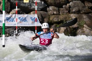 UNDER 23 GB KAYAK ATHLETE IN NARBERTH
