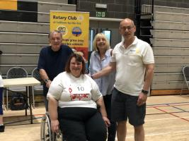 Rotary Games for the Disabled