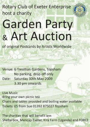 Art Auction Postcards May 2009