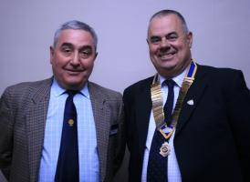 Chris Dowse - New Rotary Club Member