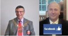 District Governor Stan Keller visits our Club & FACEBOOK update by Rtn Colin Davies
