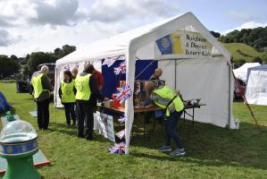 We supported the Knighton Show and Carnival