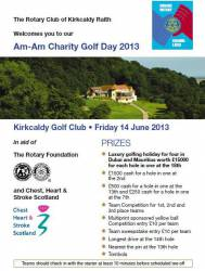 CHARITY GOLF DAY - 14 JUNE 2013