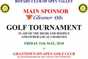Charity Golf Tournament at Grantown Golf Club