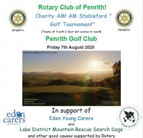 Charity Golf Day 2020 - CANCELLED