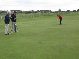 Golf at Carnoustie