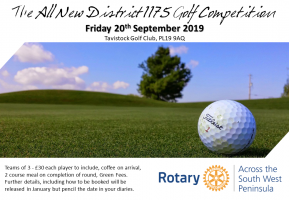 ROTARY DISTRICT GOLF DAY