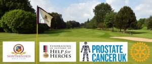 Charity Golf Day at Northenden Golf Club.