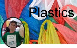 REDUCING OUR USE OF PLASTIC