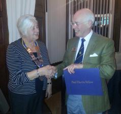 Appointments for Rotary Year 2016-17 and a new Paul Harris Fellow for the Dunbar Club