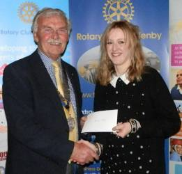 Tenby Rotary Supports Local Schools