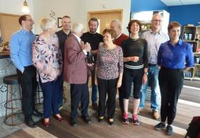 Mar 2019 Latest Inductions - Satellite Group @ Waterbeach