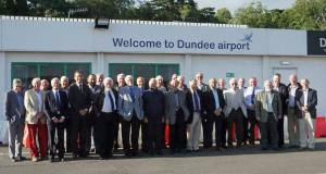 Visit to Dundee Airport