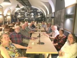 Some of our members enjoy a social trip to Prague