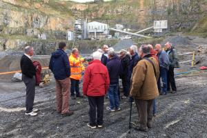 Visit to Ronez Quarry (Thursday 25 April 2019)