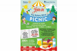 Picnic in the Grounds of Government House (Saturday 7 July 2018)