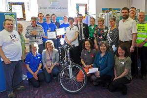 Health Awareness Day 2017 @ Oswestry Library