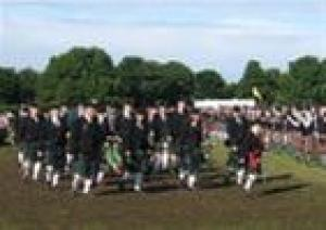 NORTH BERWICK HIGHLAND GAMES AUG 08