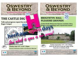Heritage Open Days Around Oswestry 2014