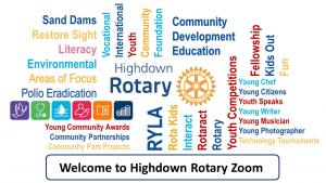 Highdown Rotary - Online Meeting