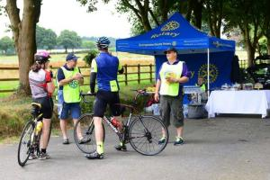 St Michael's Hospice Annual Big Wheel Cycle Ride