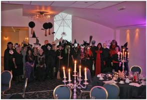 Halloween Party with partners