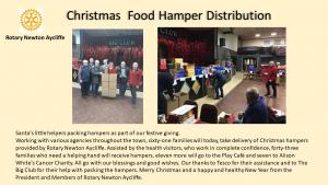 Christmas food hampers for charity