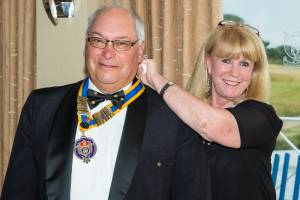 Ray Shead becomes President for the 2014-15 Rotary Year
